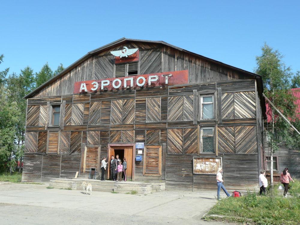 Lotnisko Turuchańsk we wschodniej Syberii