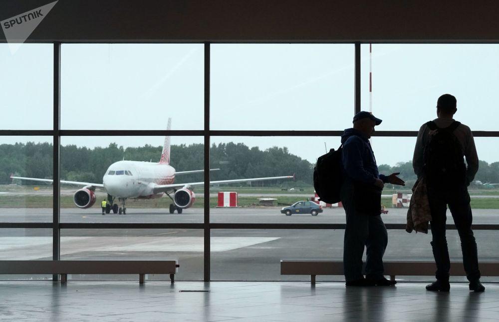 Lotnisko Chrabrowo w Kaliningradzie