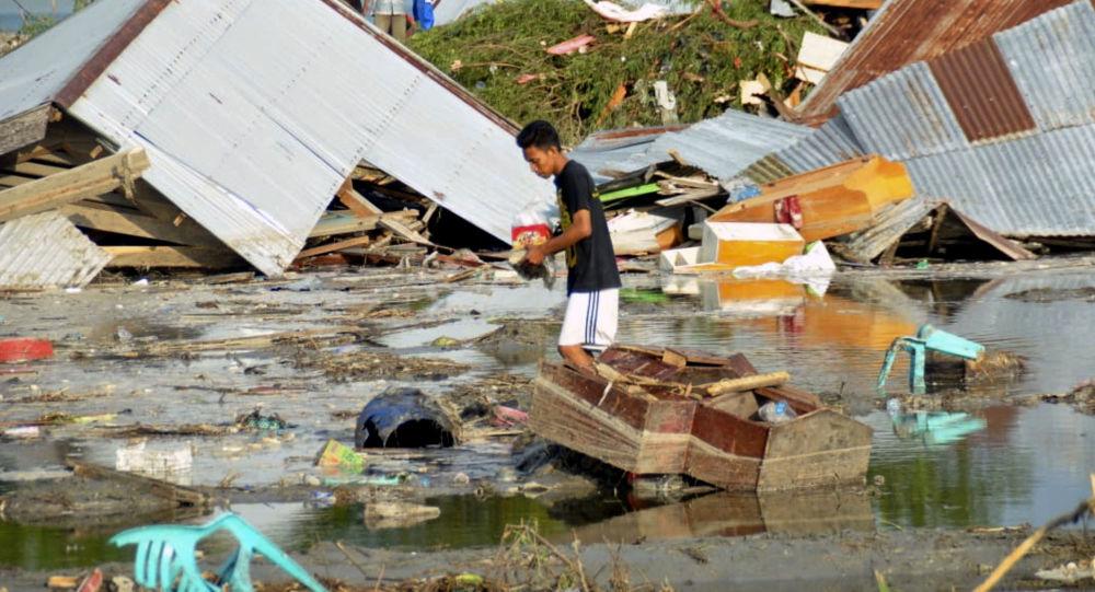 Skutki tsunami i trzęsienia ziemi w Indonezji
