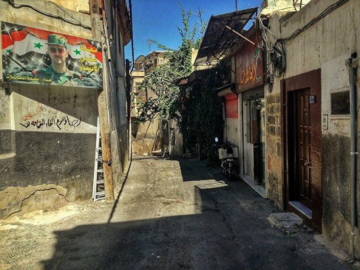 Ulice Damaszku