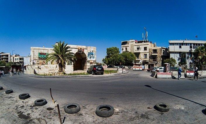 Plac Bab Tuma w Damaszku