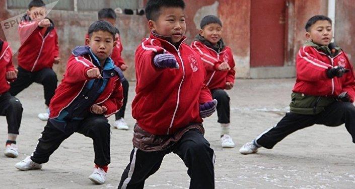 Szkoła Shaolin w Chinach