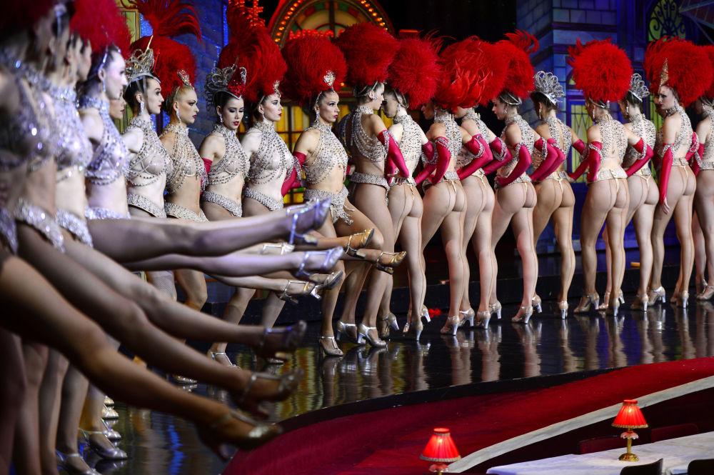 Tancerki Moulin Rouge