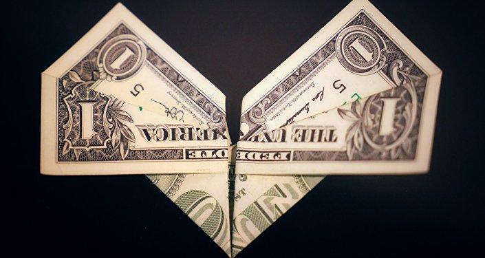 Wystawa Origami o wartości 100 dolarów w Petersburgu