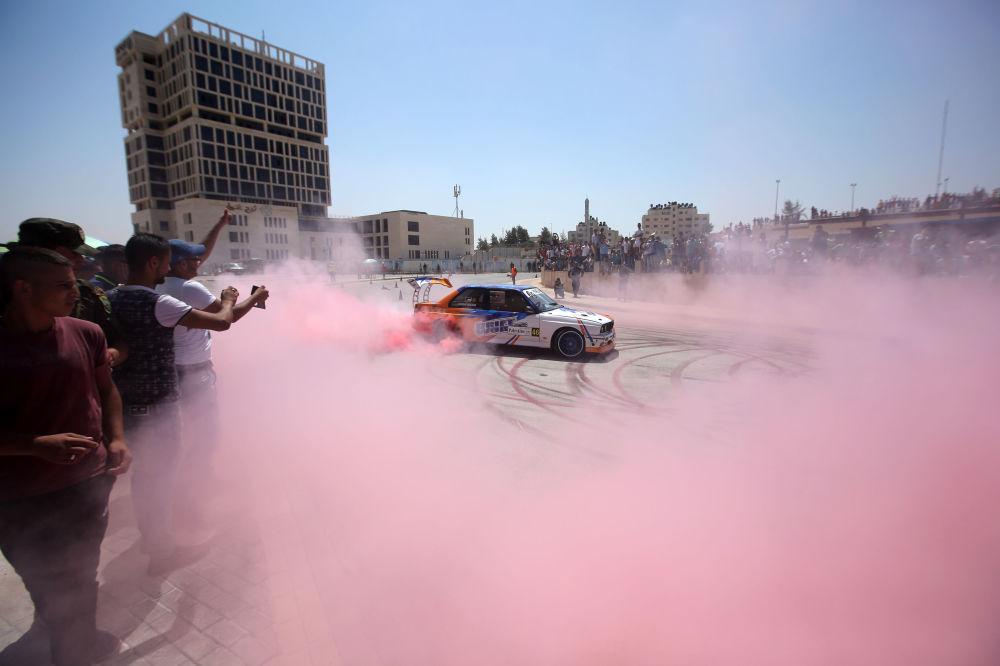 Wyścigi samochodowe w Palestynie