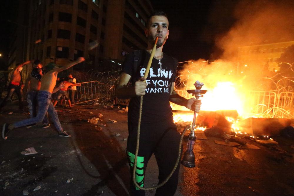Akcja protestacyjna w Libanie