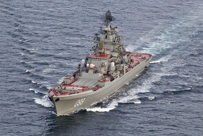 """Ciężki atomowy krążownik rakietowy """"Piotr Wielki"""""""
