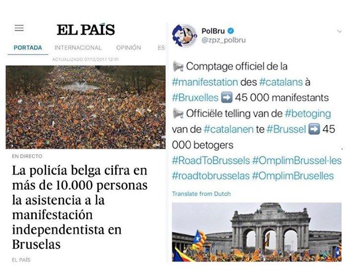 Protesty w sprawie niepodległości Katalonii