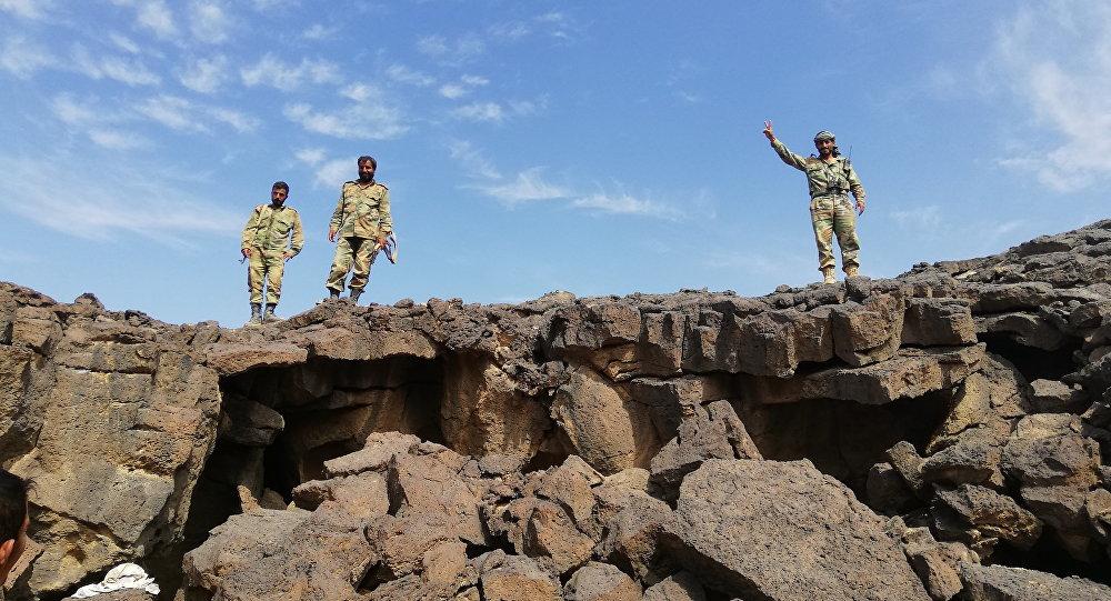 Syryjska armia kontunuuje ofensywę na pozycje terrorystów