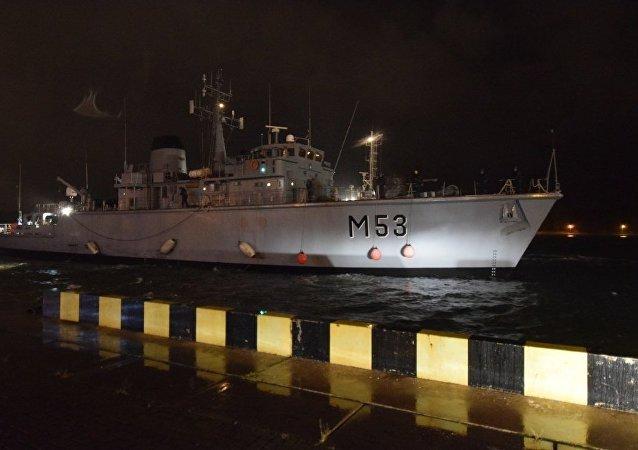 Akcja ratunkowa w czasie awarii promu Regina Seaways na Morzu Bałtyckim