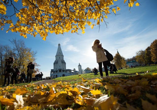Park Kołomienskoje w Moskwie