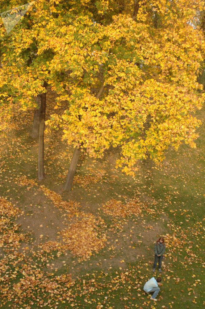 Park Carycyno w Moskwie