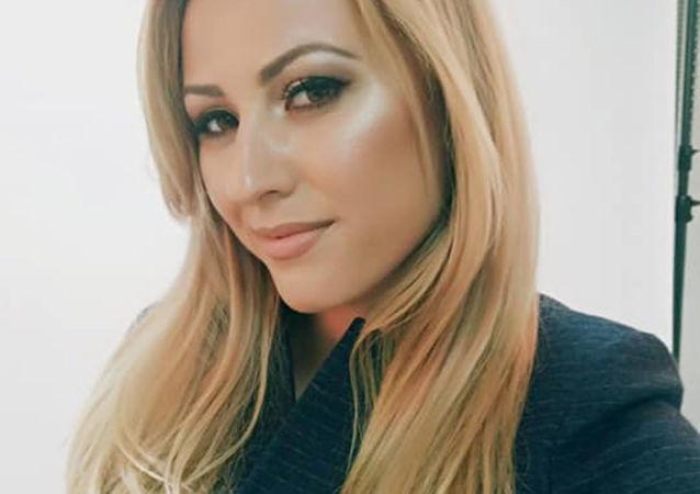Bułgarska dziennikarka telewizyjna Viktoria Marinova