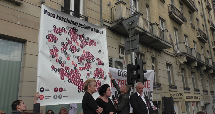 Pierwsza w Polsce demonstracja przeciwko pedofilii w Kościele