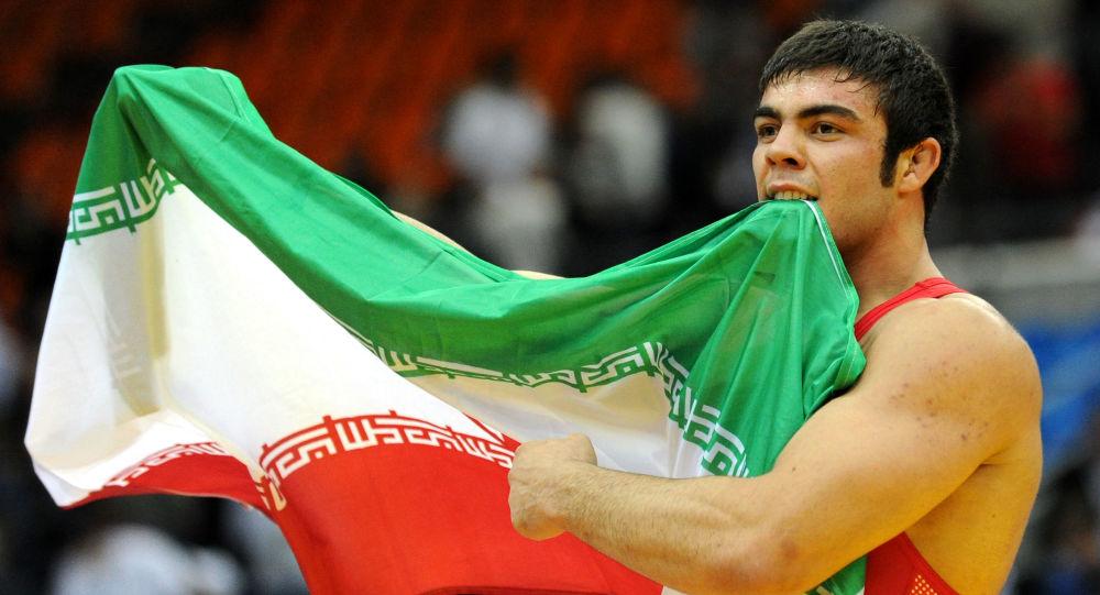 Irański zawodnik Amir Ali Akbari