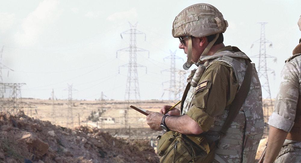 Augusto Ferrer-Dalmau w Aleppo
