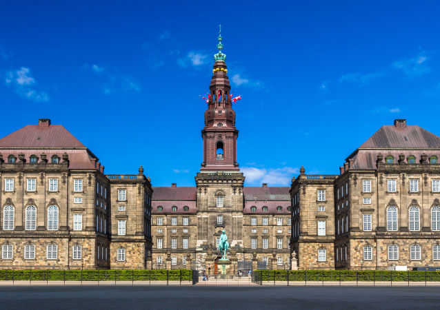 Christiansborg w Kopenhadze