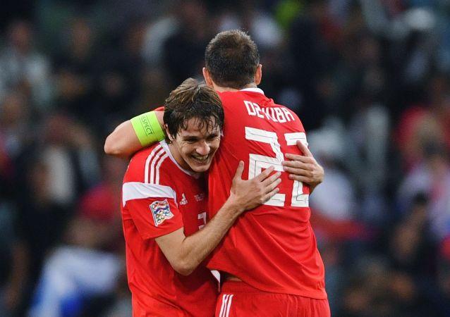Reprezentacja Rosji pokonała Turcję w meczu Ligi Narodów.