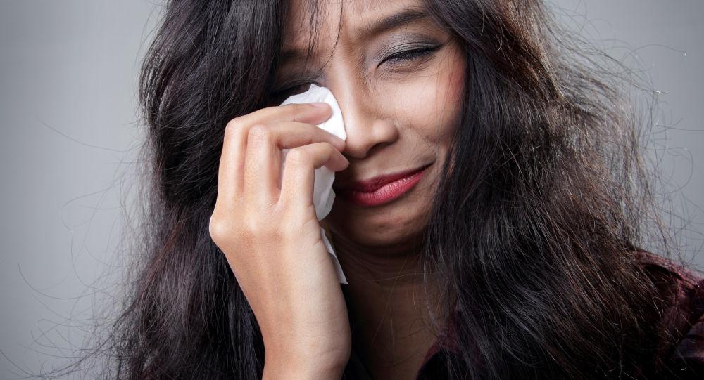 Płacząca Azjatka