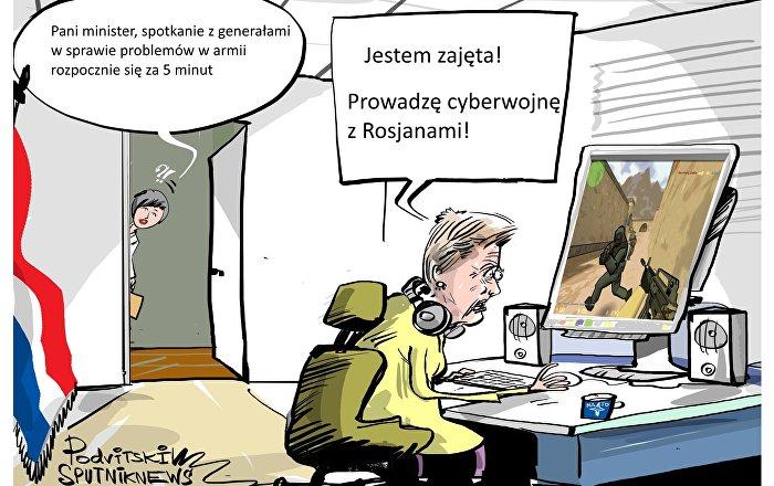 Cyberwojny z Rosjanami