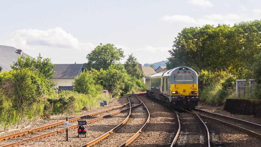 Nocny pociąg Caledonian Sleeper z Londynu do Szkocji