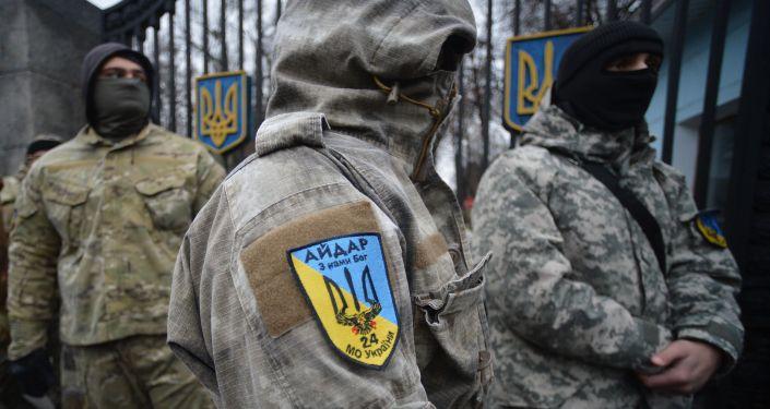 Członkowie batalionu Ajdar