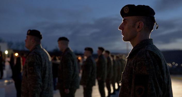 Żołnierze Sił Bezpieczeństwa Kosowa