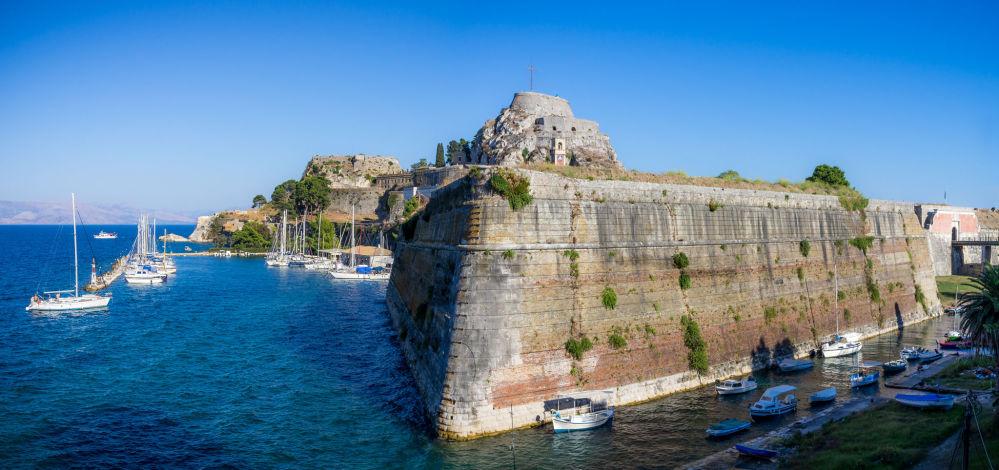 Stara twierdza w Korfu