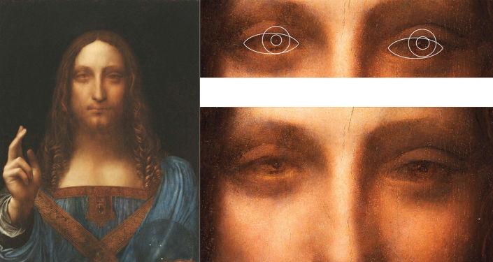 """Obraz """"Zbawiciel świata"""", rzekomy autoportret Leonarda da Vinci"""