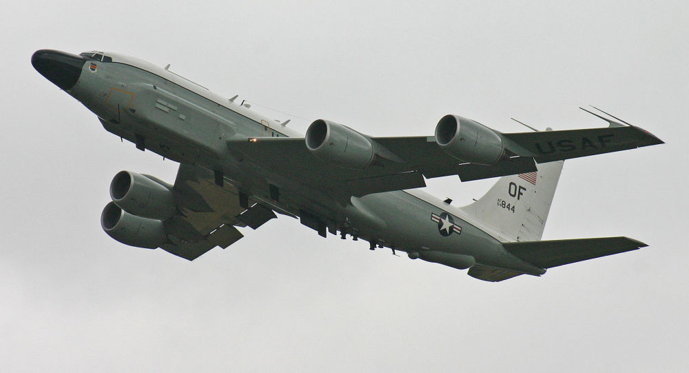 Amerykański samolot zwiadowczy RC-135V