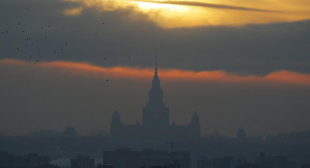 Słońce w Moskwie