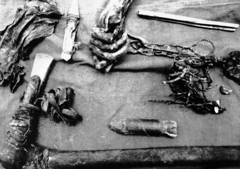 Zamrożone ciało, znalezione w Alpach