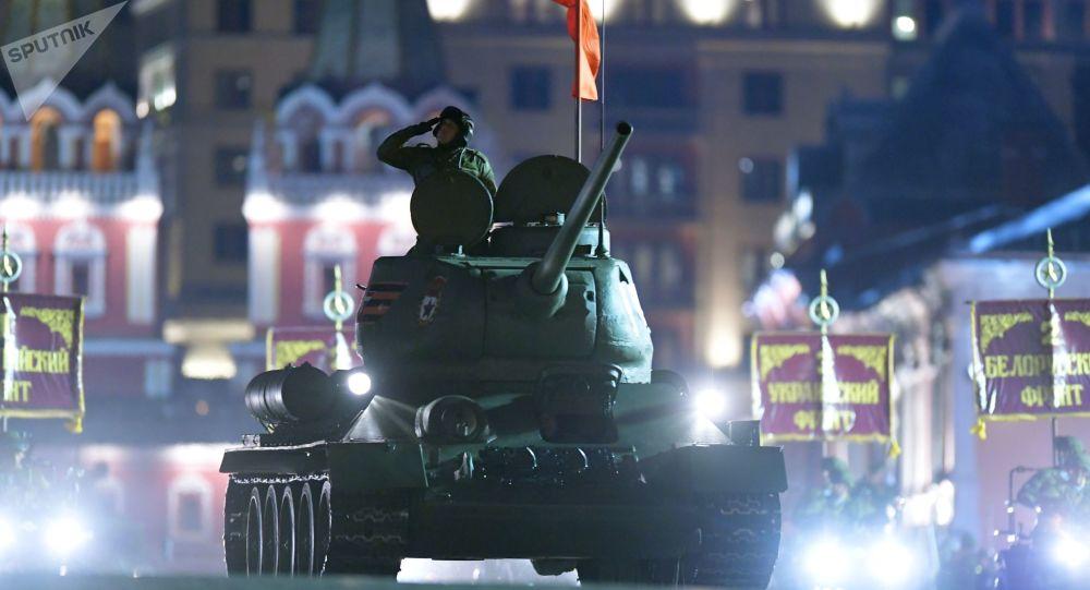 Próba parady zwycięstwa, Moskwa