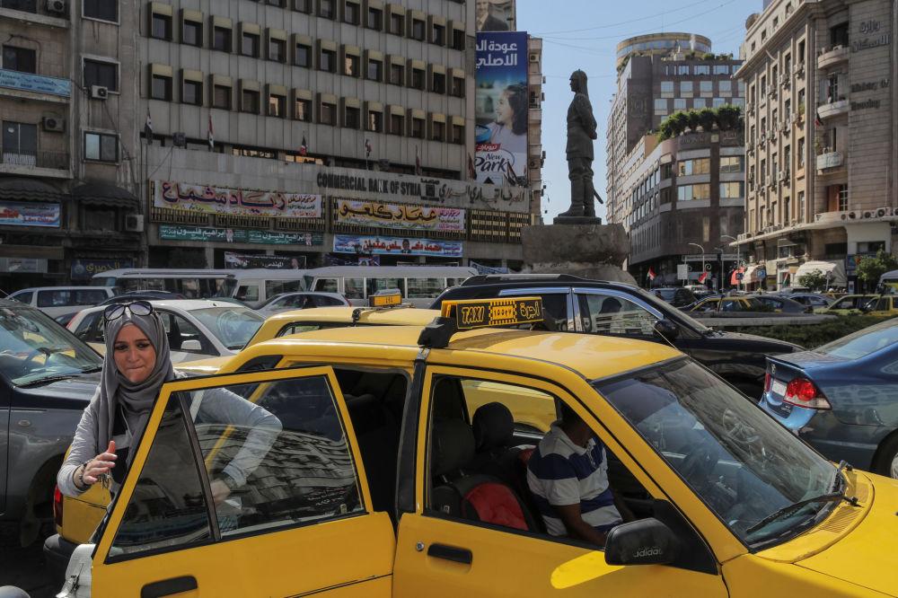 Damaszek, centrum miasta