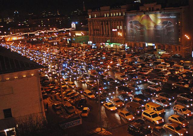 Korek w Moskwie
