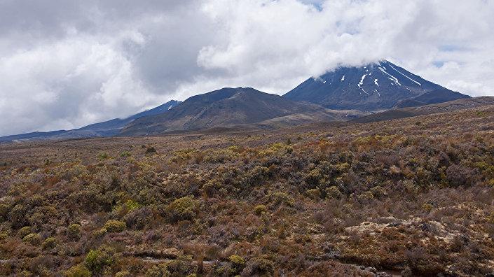 Superwulkan Taupo w Nowej Zelandii