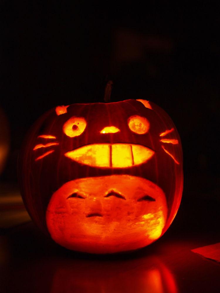 Dynia w formie postaci filmu animowanego Mój sąsiad Totoro