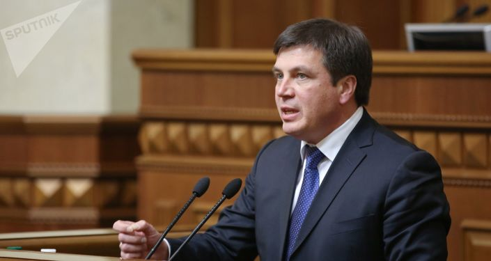 Ukraiński polityk Giennadij Zubko