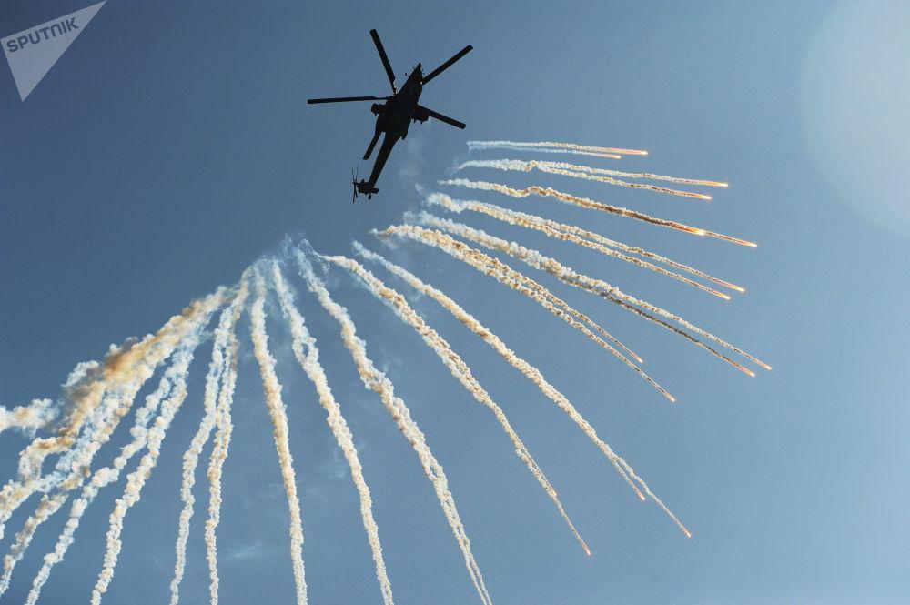 Mi-28 – dwumiejscowy śmigłowiec szturmowy