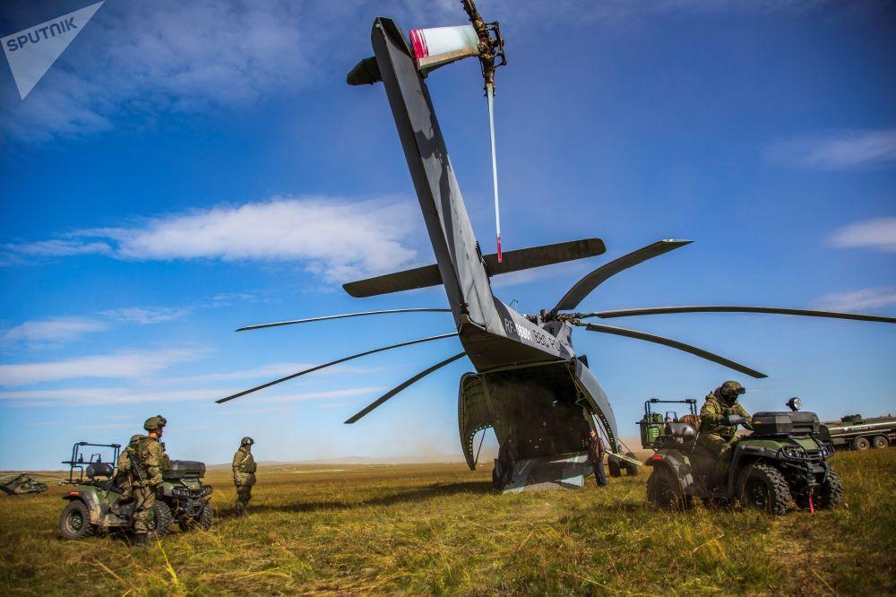 Mi-26 – ciężki śmigłowiec transportowy produkcji ZSRR