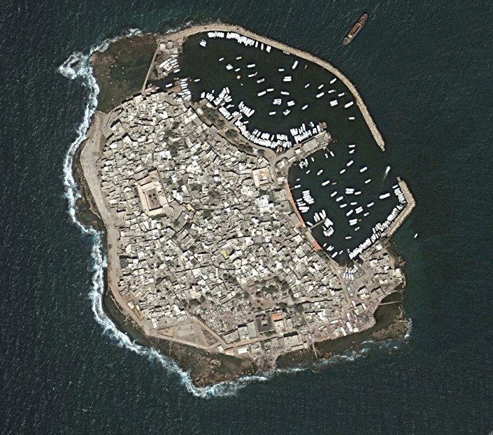 Jedyna w Syrii wyspa Arwad,