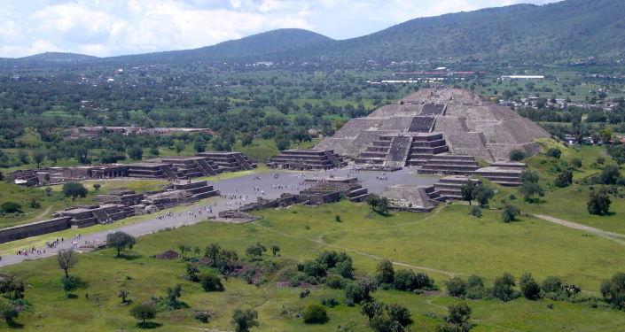 Piramida Księżyca w Teotihuacán