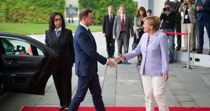 Wizyta prezydenta Polski Andrzeja Dudy w Berlinie