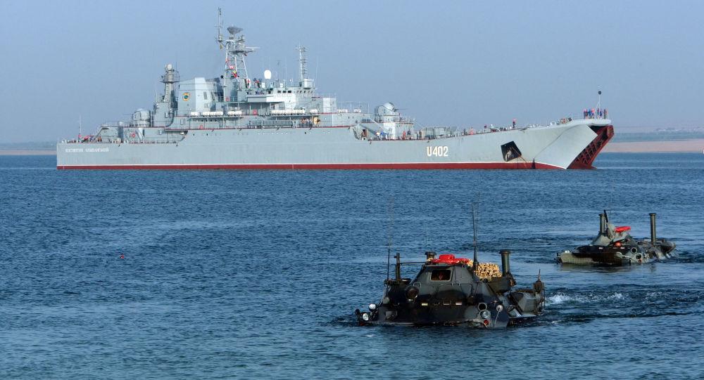 Ćwiczenia marynarki wojennej Ukrainy i USA Sea Breeze