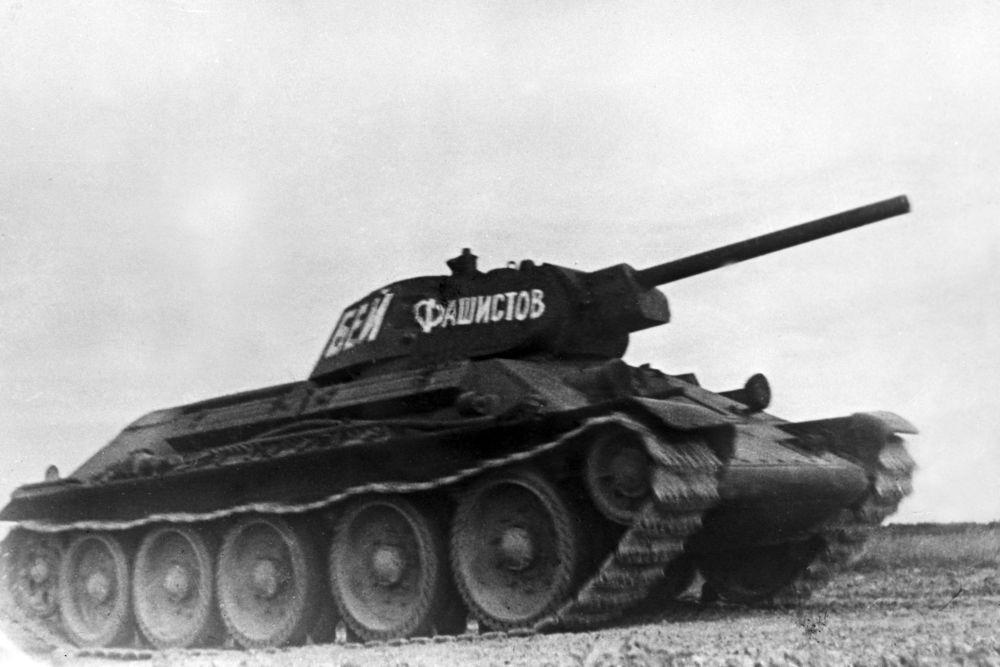 Radziecki czołg średni T-34 produkowany w latach 1941-1958