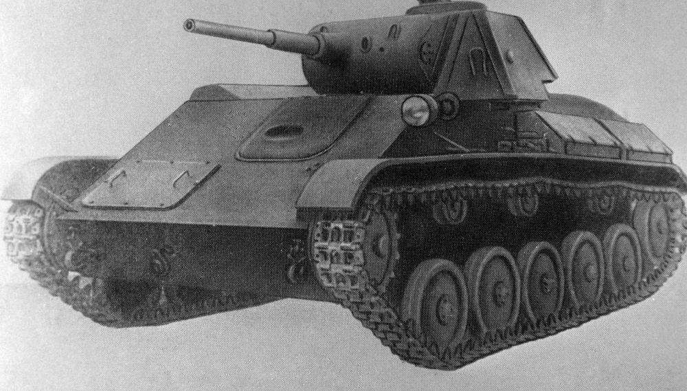 Czołg lekki produkcji radzieckiej z okresu II wojny światowej T-70