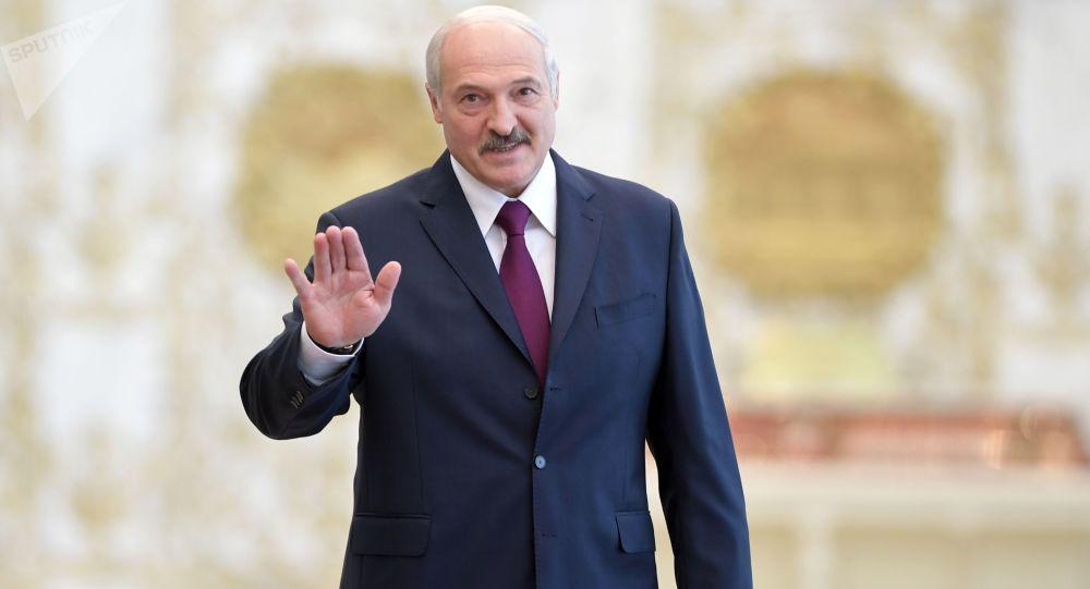 Prezydent Białorusi Alaksandr Łukaszenka. Zdjęcie archiwalne