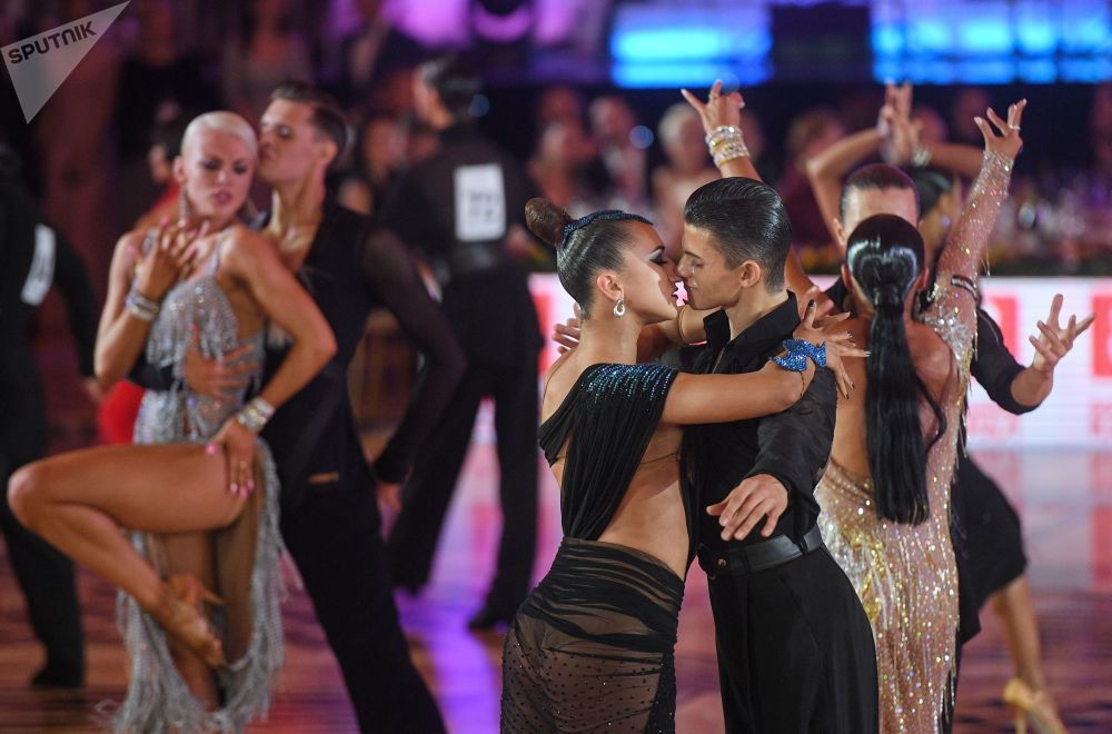 Turniej Tańca Towarzyskiego Kremlin Cup w Moskwie
