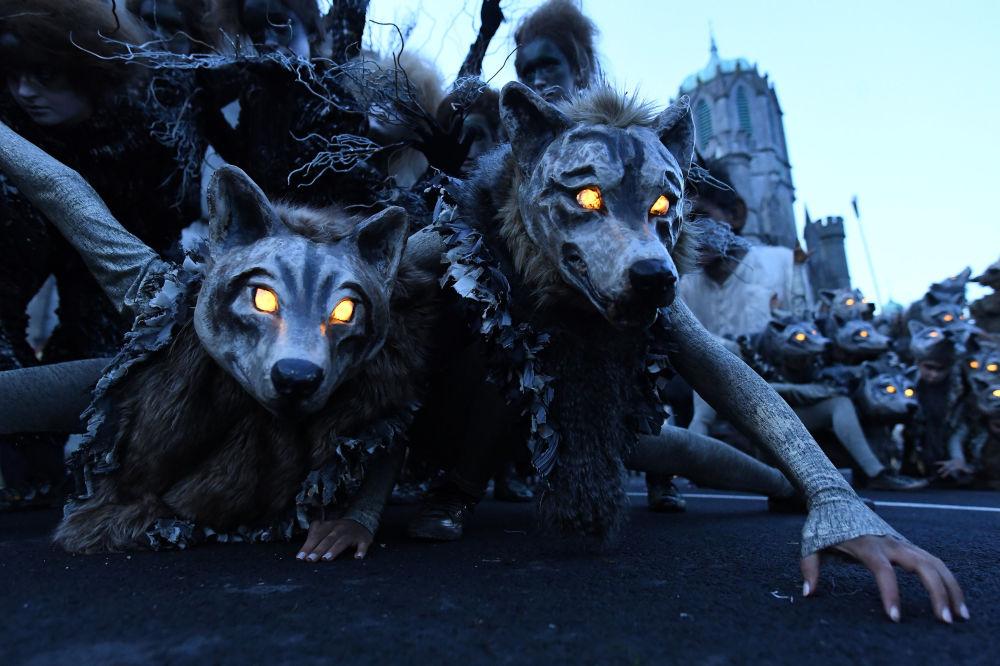 Halloween w Irlandii