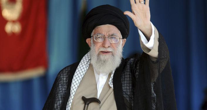 Najwyższy przywódca Iranu ajatollah Ali Hamenei
